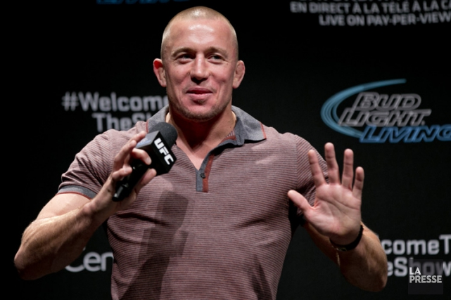 Georges St-Pierre... (Archives La Presse)