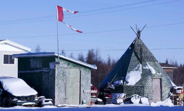La communauté de 2000 âmes, située dans la... (archives La Presse Canadiennes)