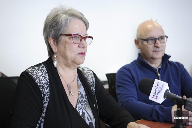 Denyse Blanchet, directrice générale du Cégep de Chicoutimi,... (Photo Le Quotidien, Mariane L. St-Gelais)