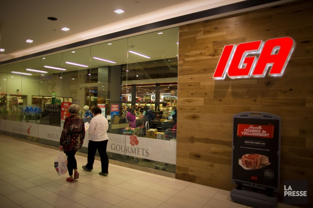 L'annonce récente d'IGA, bannière de Sobeys au Québec, d'offrir un rabais de 5... (André Pichette, Archives La Presse)