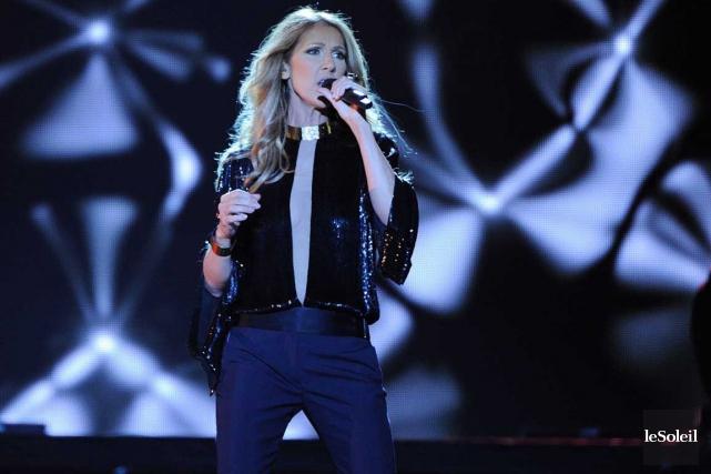 Céline Dion sera en spectacle à l'Amphithéâtre Cogeco... (Le Soleil)