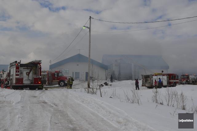 Le pire a été évité lors d'un incendie... (Photo Le Quotidien, Louis Potvin)