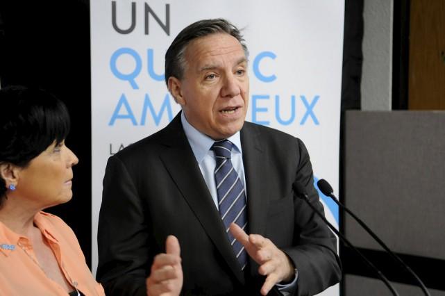 Sans ancrage au Saguenay, la Coalition Avenir Québec,... (La Presse Canadienne)