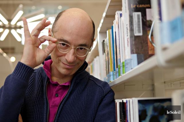 L'auteur français Bernard Werber se décrit comme un... (Le Soleil, Frederic Matte)