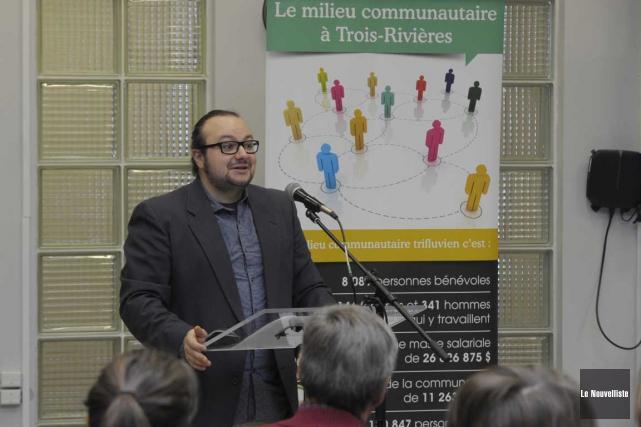 Anthony Deshaies, le directeur général par intérim de... (Sylvain Mayer, Le Nouvelliste)