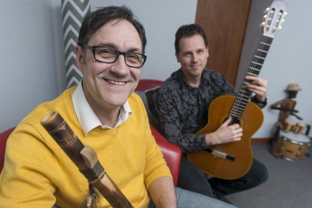 Inspiré par le son de la flûte amérindienne... (Spectre Média, Frédéric Côté)