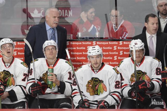 Les Blackhawks de Chicago seront menacés dès le... (archives La Presse)