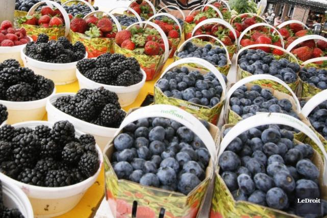 Les producteurs locaux de fruits et légumes pourront... (Archives LeDroit)