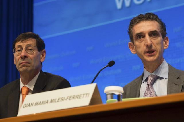Le chef économiste du Fonds monétaire international, Maurice... (Molly Riley, AFP)