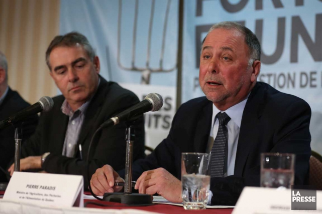 Le président de l'Union des producteurs agricoles, Marcel... (La Presse)