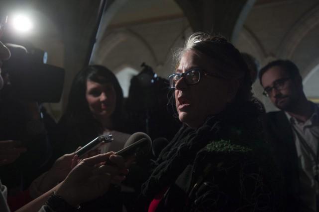 Les ministres unilingues francophones sont jugés plus sévèrement... (Adrian Wyld, PC)