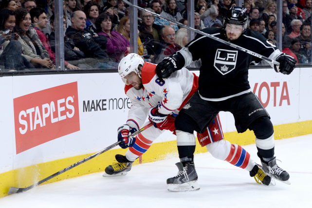 Alexander Ovechkin et Drew Doughty... (Photo archives USA Today Sports)
