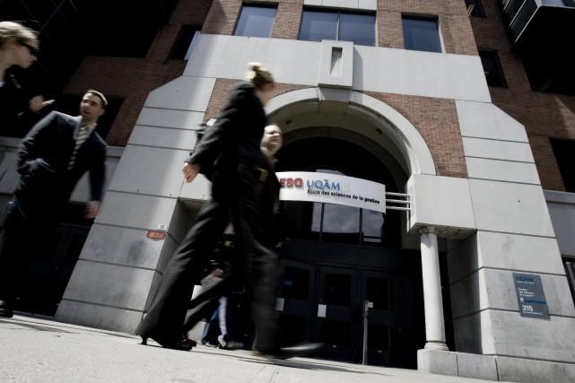L'École des sciences de la gestion de l'Université... (Photo fournie par l'UQAM)