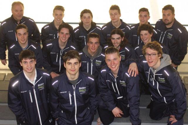 Ils représenteront Hockey Sherbrooke en Europe: Frédéric Delage,... (Photo fournie)