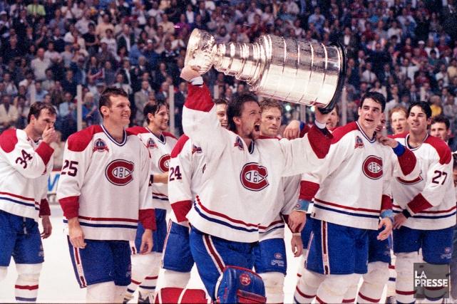 La Coupe Stanley n'a pas été gagnée par... (Photo Robert Mailloux, archives La Presse)