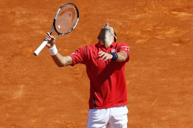 Novak Djokovic... (Photo Valery Hache, AFP)