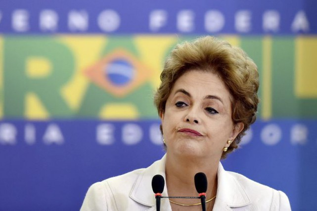 Dilma Rousseff... (PHOTO EVARISTO SA, AGENCE FRANCE-PRESSE)