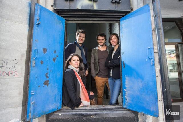 Le Moleskine est le nouveau projet des copropriétaires... (PHOTO HUGO-SÉBASTIEN AUBERT, LA PRESSE)