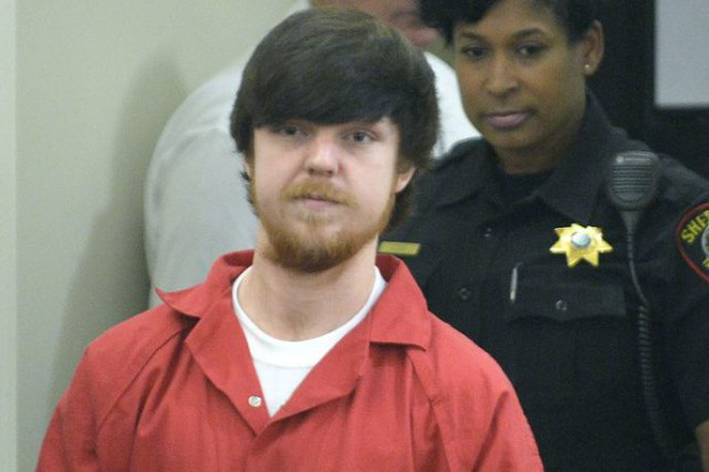 Ethan Couch en cour à Fort Worth, au... (Photo Max Faulkner, Star-Telegram via AP)