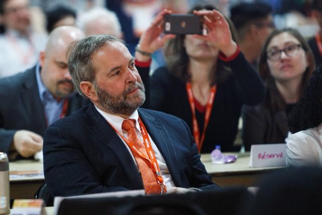 Les néo-démocrates ont montré la porte à leur... (PHOTO CODIE MCLACHLAN, LA PRESSE CANADIENNE)