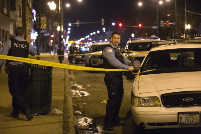 Chicago subit ces dernières années une épidémie de... (PHOTO AP)