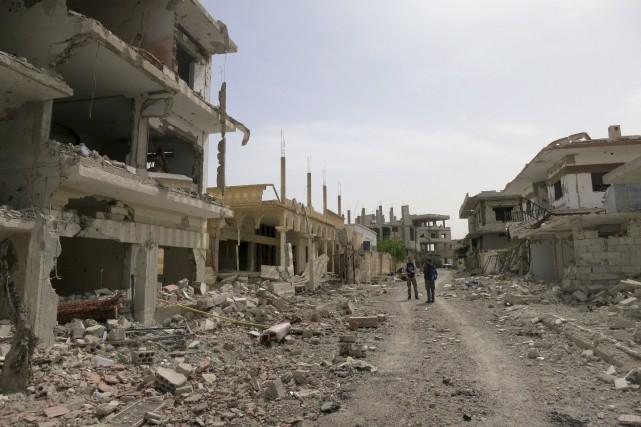 Les violents combats qui ont lieu un peu... (AFP, Max Delany)