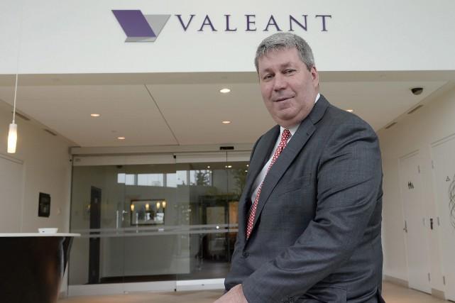 Le chef de la direction de Valeant,Michael Pearson.... (PHOTO RYAN REMIORZ, archives LA PRESSE CANADIENNE)