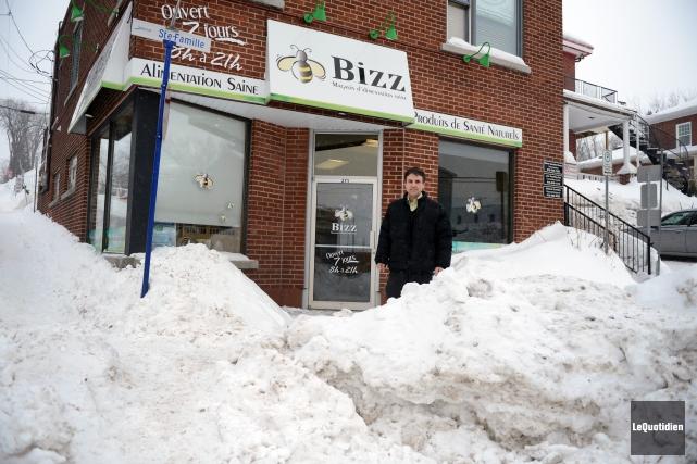 Copropriétaire du magasin Bizz, Denis Gilbert affirme qu'il... (Archives Le Quotidien, Jeannot Lévesque)