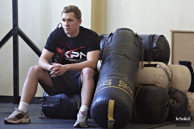 Kevin Bizier pourrait reprendre l'entraînement physique la semaine... (Photothèque Le Soleil, Pascal Ratthé)