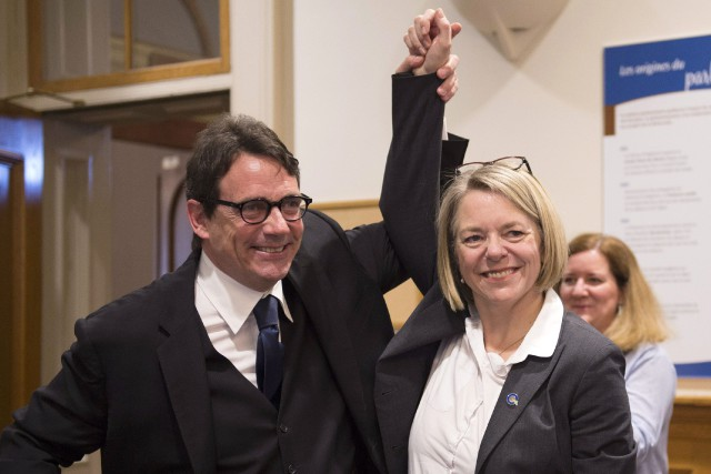 Le chef du Parti québécois, Pierre Karl Péladeau,... (PHOTO JACQUES BOISSINOT, ARCHIVES LA PRESSE CANADIENNE)