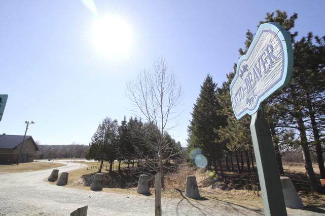 Le parc Atto-Beaver, du secteur Lennoxville, avait été... (Spectre Média, René Marquis)