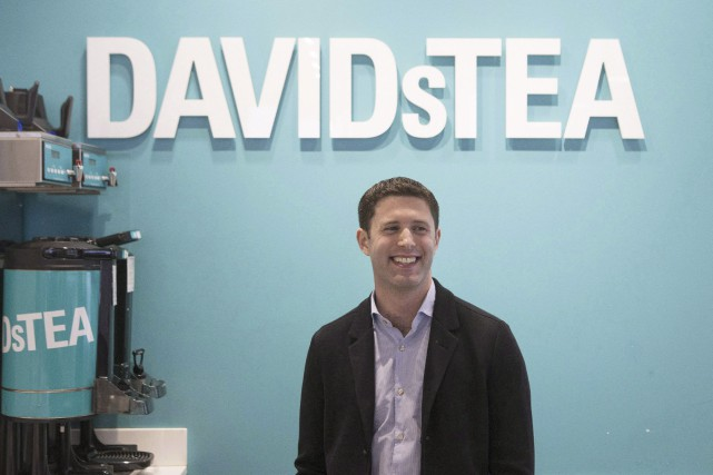 David Segal, l'un des cofondateurs des Thés DavidsTea... (La Presse Canadienne, Chris Young)