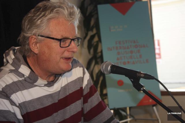 Le directeur artistique du FIMAV, Michel Levasseur, a... (La Tribune, Yanick Poisson)