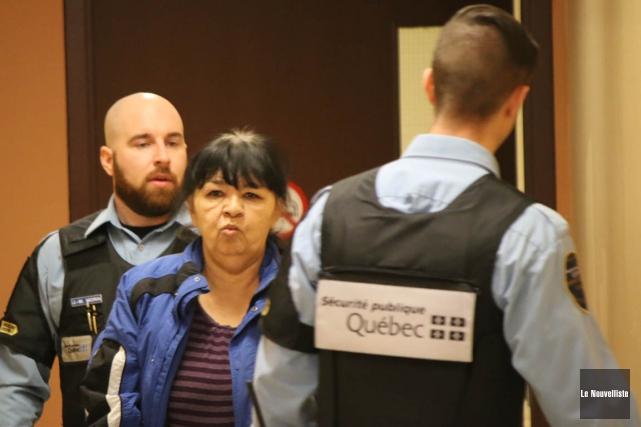 Christine Mequish a été déclarée délinquante dangereuse, mercredi,... (Audrey Tremblay, Le Nouvelliste)