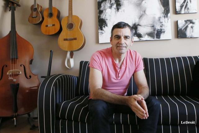 Le bassiste Marc Langis, originaire de Cap-de-la-Madeleine, a... (Simon Séguin-Bertrand, Archives LeDroit)