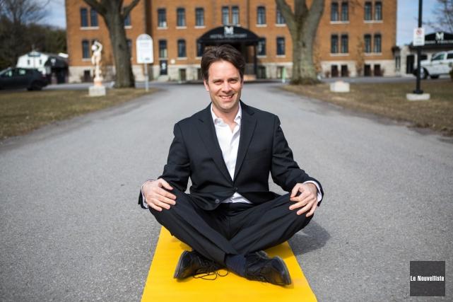 Daniel Thibeault organise une première édition de Zen... (Olivier Croteau, Le Nouvelliste)