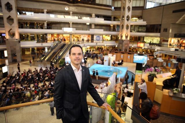 Rencontré hier par La Presse, Dany Gauthier, directeur... (Photo Martin Chamberland, La Presse)