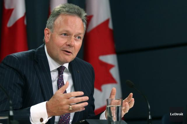 Le gouverneur de la Banque du Canada, Stephen... (Photo Étienne Ranger, archives LeDroit)
