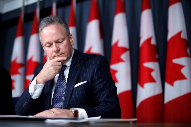 La Banque du Canada projette désormais une croissance... (PhotoChris Wattie, Reuters)