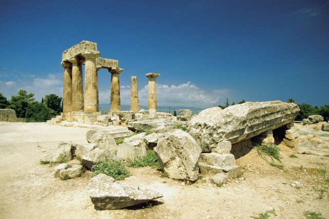 Le temple d'Apollon est l'un des principaux sites... (PHOTO THINKSTOCK)