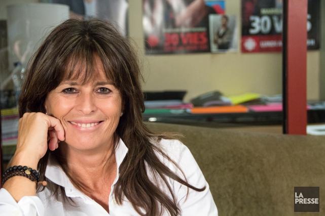 Fabienne Larouche aura accouché de 660 épisodes de... (PHOTO NINON PEDNAULT, ARCHIVES LA PRESSE)