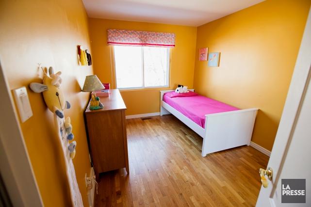 La couleur de la chambre d'Ariane ne sied... (PHOTO ALAIN ROBERGE, LA PRESSE)