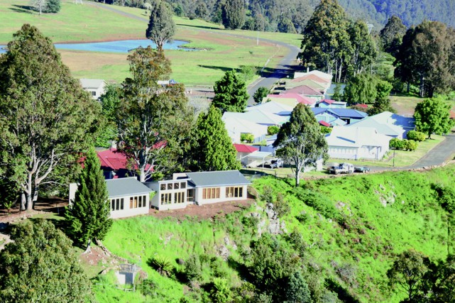 Cette localité avait été créée dans les années... (PHOTO AFP/KNIGHT FRANK TASMANIA)