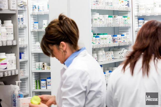 En juin2015, les pharmaciens avaient signé une entente... (PHOTO ULYSSE LEMERISE, COLLABORATION SPÉCIALE, ARCHIVES LA PRESSE)