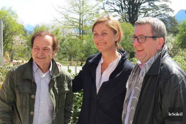 Le concepteur du Musée Chaplin, Yves Durand, la... (Collaboration spéciale, Le Soleil, Valérie Gaudreau)