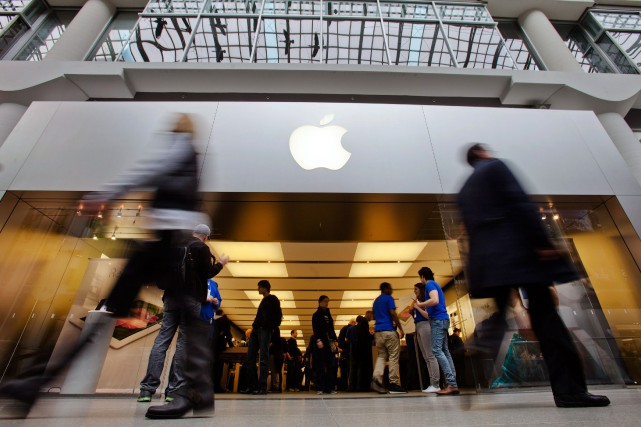 Le groupe informatique américain Apple poursuit ses efforts pour implanter... (Photo Mark Blinch, Archives Reuters)