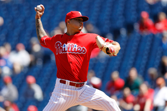 Vince Velasquez... (Photo Matt Slocum, AP)