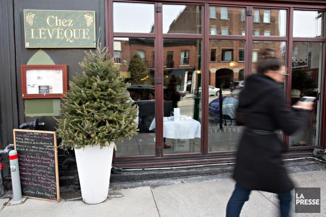 Chez Lévêque est situé au 1030, avenue Laurier... (PHOTO OLIVIER JEAN, LA PRESSE)