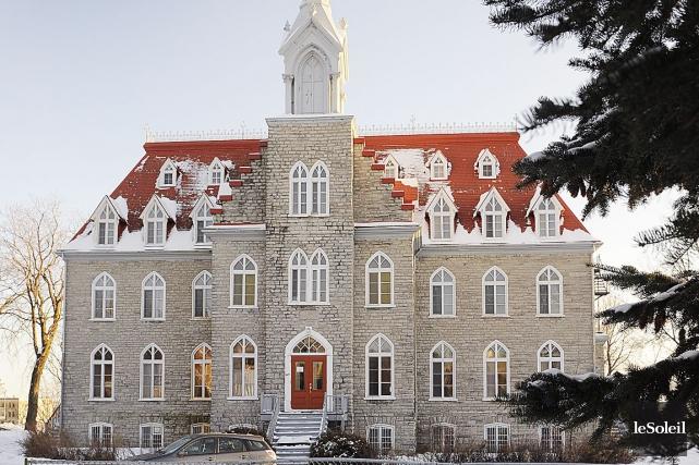 Le couvent de Beauport, un bâtiment patrimonial datant... (Le Soleil, Patrice Laroche)