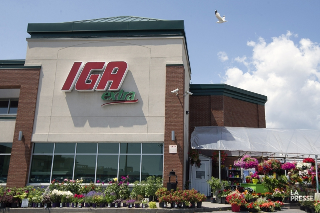 Le marché interprète la décision d'IGA comme un... (Archives La Presse)